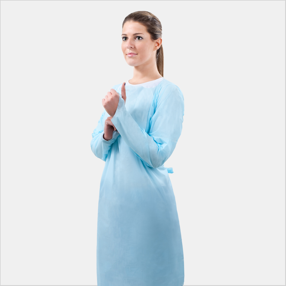 Over-the-Head Gown, Medical Grade, Fluid-Impervious - NorthStarlight ...